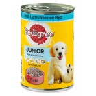 PEDIGREE BLIK JUNIOR LAM/RIJST 400GR