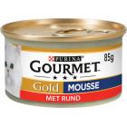 GOURMET GOLD MOUSSE RUNDVLEES 85GR