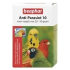 BEAPHAR ANTI-PARASIET 10 VOGEL 2 PIPET