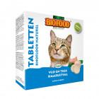BIOFOOD KATTENSNOEPJES VLO/TEEK/HAARUITVAL 100 STUKS