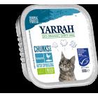 YARRAH CAT ALU BROKJES MET VIS 100GR