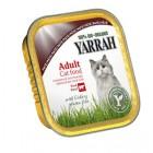 YARRAH CAT ALU PATE KIP/RUND/CHIC 100GR