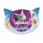 WHISKAS TEMPTATIONS ZALM 60GR