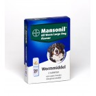 MANSONIL ALL WORM LARGE DOG 2 TABLET
