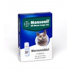 MANSONIL ALL WORM LARGE CAT 2 TABLET