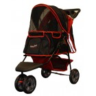 HONDENBUGGY ALL TERRAIN ROOD/ZWART IPS01RB