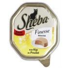SHEBA FINESSE MOUSSE MET KIP 85 GR