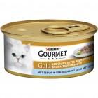 GOURMET GOLD CASSOLETTES ZEEVIS 85GR