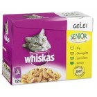 WHISKAS MP SENIOR VLEES IN SAUS 12X100GR