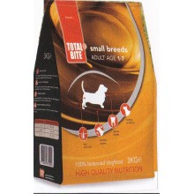 TOTAL BITE DOG ADULT SMALL BREEDS 3KG