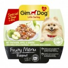 GIMDOG LITTLE DARLING FRUITY MENU KALKOEN, APPEL EN GROENTEN