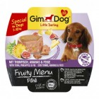 GIMDOG LITTLE DARLING FRUITY MENU TONIJN, ANANAS & VIJG