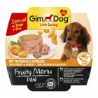 GIMDOG LITTLE DARLING FRUITY MENU KALKOEN & ABRIKOOS