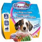 RENSKE HOND KIP MET LAM (PUPPY) 100 GR